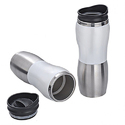 Stainless Steel White Sipper