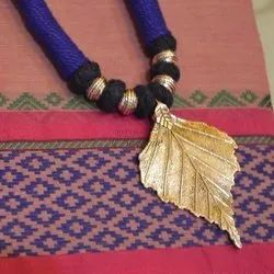 Silk Dori Necklace with Pendent Indian Traditional Jewelry