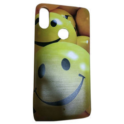 Multicolor Soft TPU Smiley Designer Mobile Cover, Packaging Type: Box
