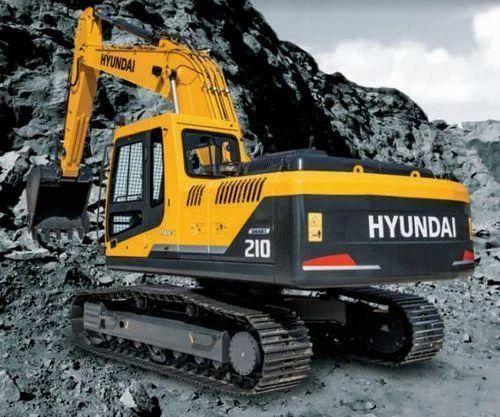 Hyundai Hydraulic R210 Smart Excavator - Infra Engineers India