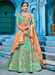 Wedding Season Special Silk Lehenga Choli