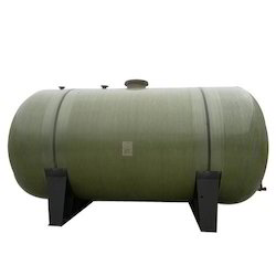 Underground FRP Storage Tank