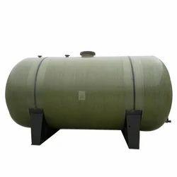 Underground Water FRP Storage Tank