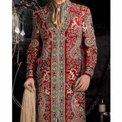 Mens Wedding Sherwani, Size: 34-40