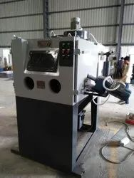 Semiautomatic Cabinet Type Suction Abrasive Blasting Machine
