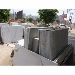 Indian Marble White Marble Slab, Thickness: 12-20 mm