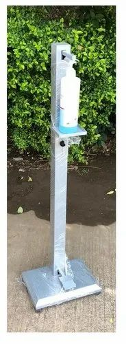 Foot Operated Hands Free Sanitizer Dispenser Stand