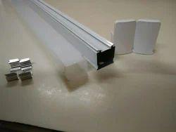 Plastic ISI Square Type LED Tube Housing