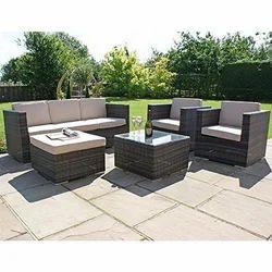 Cane Outdoor Sofa Set