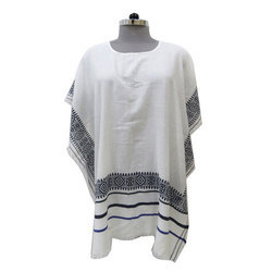 f2a984f8f Ladies Cotton White Poncho Top, Size: 95 X 200 Cm, Rs 399 /piece ...