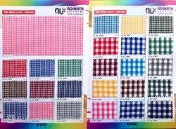 Cotton School Uniform Check Fabric