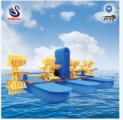 4 Paddle Fish Culture Aerator