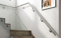 Wall Mounted Stainless Steel Staircase Hand Railing
