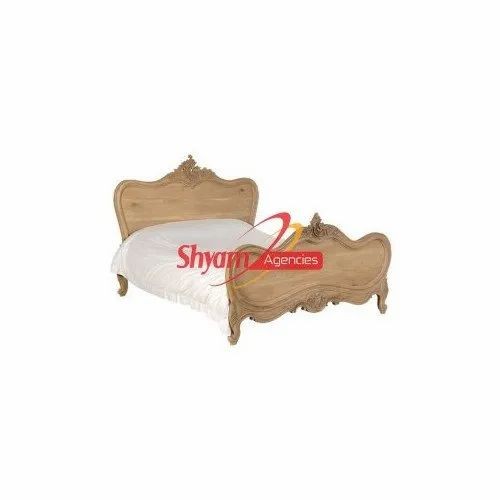 Shyam Agencies Wedding Wooden Double Bed