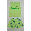 Cotton Baby Top And Shorts