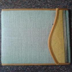 Double Colour Jute Flap File