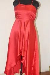 Silk Satin Westran Dress