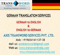 English German Translation Services, Pan India