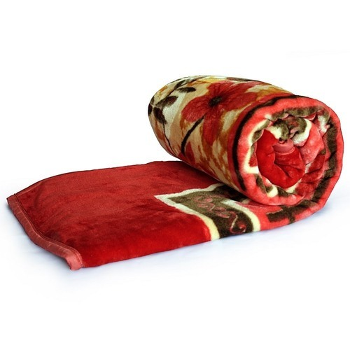stylish floral print double bed blanket 221 at rs 992 piece id