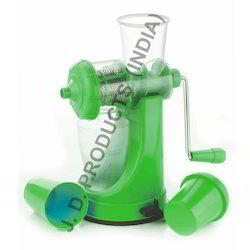 Fruit Juicer With Waste Collector Glass