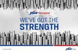 Mild Steel JSW Steel JSW Neo Steel Tmt Bar