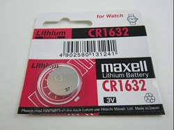 Maxell CR 1632 Lithium Coin Cell Battery