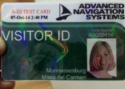 Holographic Stickers For Identity Cards