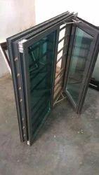 Aluminium Powder Coated Aluminum Grill Window, For Residential