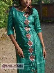 Stitched Non-Stretchable traditional kurti, Age Group: 16-45, Dry clean