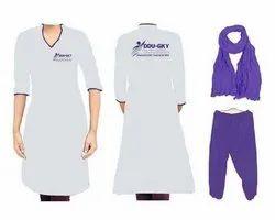 Raymand cotton grey and purple DDU Salwar suit, Handwash