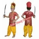 Kids Meghnath Red Costume