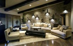Stone Cladding For Drawing Room