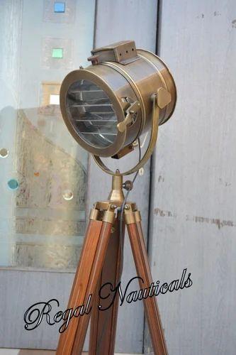 Retro Hollywood Marine Floor Lamp, Marine Floor Lamp