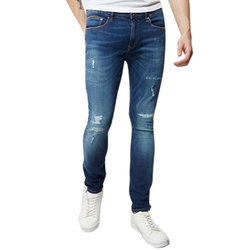 Men Party Wear Mens Ripped Denim Jeans, Yes, Waist Size: 28-36