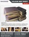 Colour MDF sheet