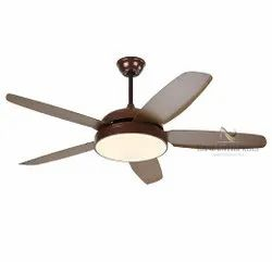 40 Electricity K 1537 Coffee Brown Color Fancy Ceiling Fans With LED & Remote