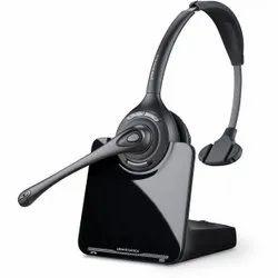 Wireless Black Plantronics IP Cordless Headsets, Weight: 2.5 Oz / 70.9 G (headset)