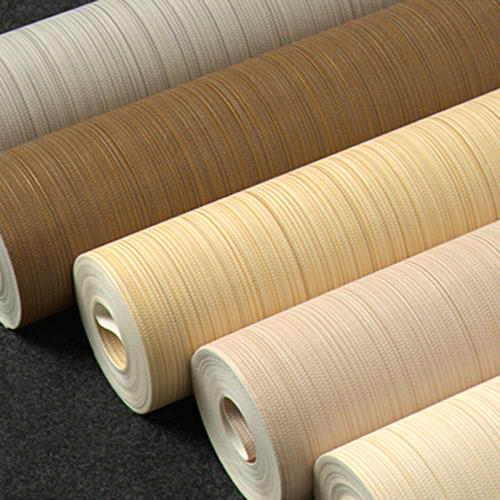Pvc Non Woven Wallpaper Material Roll