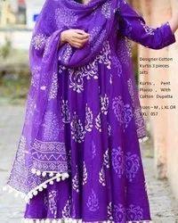 Cotton Handloom Suit