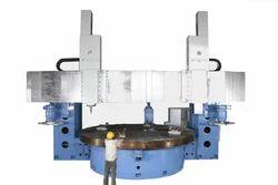 Double Column Fixed Cross Rail CNC VTL