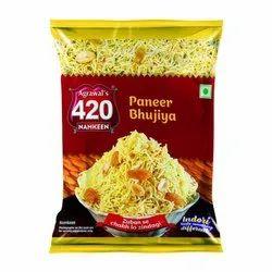 Agrawal's Paneer Bhujiya Namkeen, Packaging Type: Packet