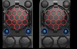 Black Intex DJ-2Point0 XM 18000 SUFB Speaker