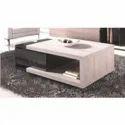 Wood Rectangular Wooden Center Table, For Home