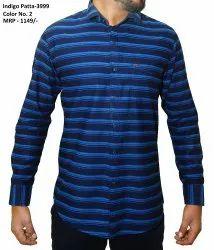 Men Printed Kento Lining Shirt -3999