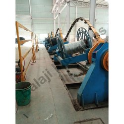 Mild Steel Electric Cable Making Machine, Automation Grade: Automatic, 350 Kg