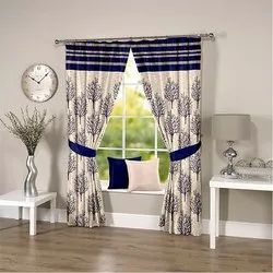 Abstract Blue Curtain