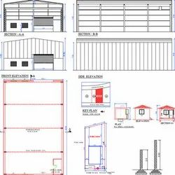 Offline Industrial Shed Architecture Drawing And Designing Service, in Pan India