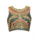 Embroidered Sleeveless Designer Blouse