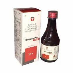 Lycopene Multivitamins & Multiminerals Antioxidant Syrup