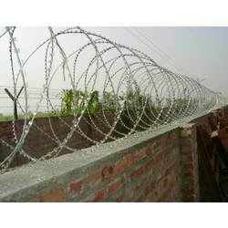 Silver Color GI Boundary Wire Fencing